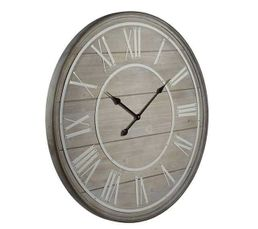 Horloge COTTAGE Naturel / blanc
