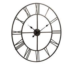 Horloge D.76 cm STATION Noir