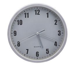 Horloge D.20 cm HOUR 4 Argent
