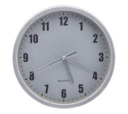 HOUR 4 Horloge D.20 cm Argent