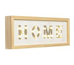 HOME Lampe à poser Assortis