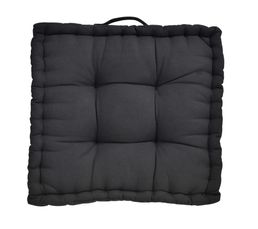 Coussin de sol 40x40 cm COLOR Noir