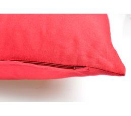Coussin 60x60 cm COLOR Rouge