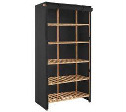 portant et penderie pas cher. Black Bedroom Furniture Sets. Home Design Ideas