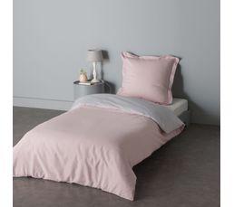housse de couette 140x200 cm 1 taie d 39 oreiller gemini linge de lit but. Black Bedroom Furniture Sets. Home Design Ideas
