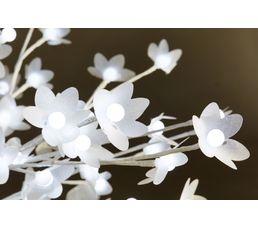 Arbre à fleurs LED  H. 150cm  Blanc