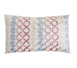 CIRCLE Coussin 30 x 50 cm Rose