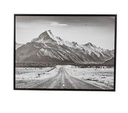 PYRENEES Toile 60x80 cm Noir et blanc