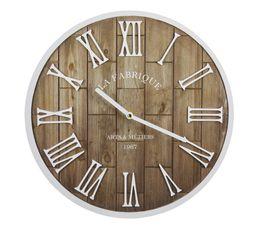 ROME Horloge ø 34 cm Bois