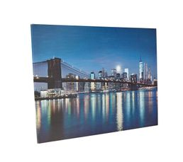 Toile LED 85x110 cm MANHATTAN LED Multicolor