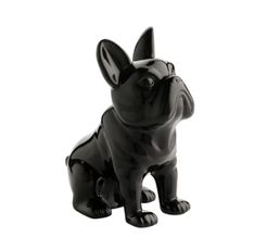 DOGGYDOG Statue H. 21 cm Noir