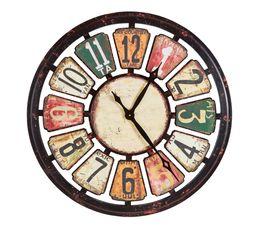 Horloge ø 80 cm ATHENA Multicolor
