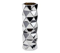 Structure : grès. Coloris : silver. Dimensions en cm : ø 10 - 30 cm.