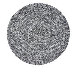 Tapis rond 120 cm DILLON Gris