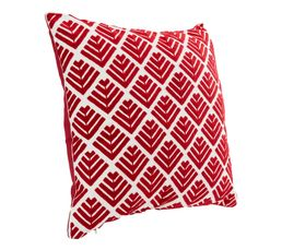 Coussin 45x45 cm RUSTY Rouge