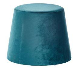 Pouf Ø 35-45 cm JEAN Bleu canard