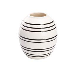 Vase H. 22 cm BOWLY Blanc