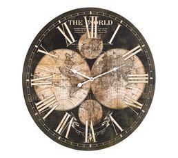Horloge D.60 cm MAP Noir / Doré