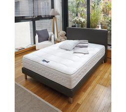 Tête de lit anthracite 160 cm SIMMONS PU