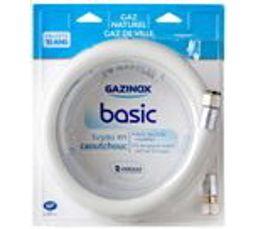 Tuyau de Gaz Naturel GAZINOX Basic GN 1,5 m caoutchouc