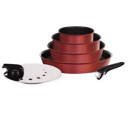 TEFAL Set poele et casserole L6599403 Ingenio