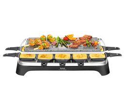 Raclette+ pierrade ® TEFAL RE45A812 noir