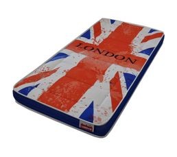 Matelas 90 x 190 cm DREAMEA JUNIOR LONDON
