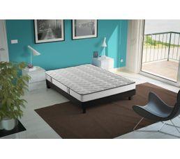 sommier d co noir vestan 140x190 cm sommiers but. Black Bedroom Furniture Sets. Home Design Ideas