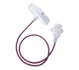 E27 60W Cordon électrique Violet