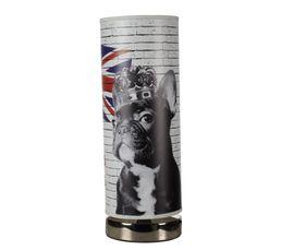 Lampe à Poser London Dog Imprimé Lampes à Poser But