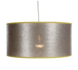 Lin métal Suspension Gris/jaune