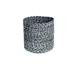 Corbeille ronde 25 cm JASMINE Gris