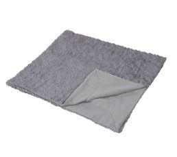PAILLETTES Plaid 125x150 cm gris