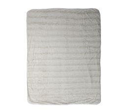 Plaid 130x160 cm SIBERIE blanc