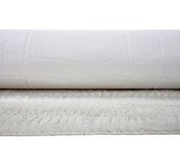 Tapis 60x90 cm SIBERIE blanc