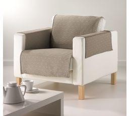 Protège fauteuil 160x179 cm RISE Taupe