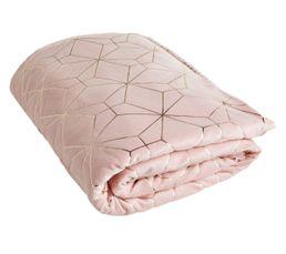 soldes plaid et couvre lit pas cher. Black Bedroom Furniture Sets. Home Design Ideas