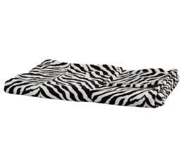 SAFARI Plaid 130x160 cm noir/blanc
