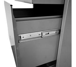Caisson 3 tiroirs RETRO 3 Aluminium