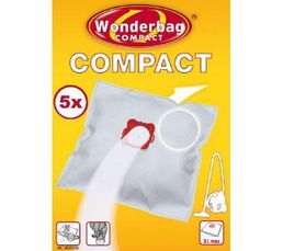 ROWENTA Sac aspirateur Wonderbag Compact 3L x5