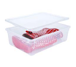 Boîte de rangement CLEAR BOX BOOTS 22 Litres / Transparent