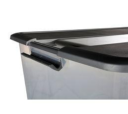 Boîte 58L KLIKER ROLLER Argent/Transparent