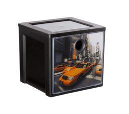 Cube de rangement MYDECOBOX CITY Livré avec décor