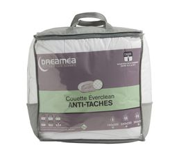 DREAMEA Couette 140 x 200 cm EVERCLEAN ANTI-TACHES