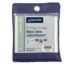 DREAMEA Protège oreiller 45x70 cm BIEN-ETRE