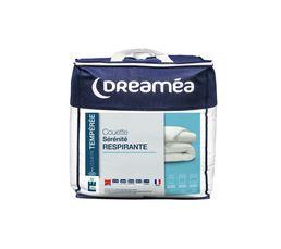Couette 220x240 cm DREAMEA DACRON RESPIRE
