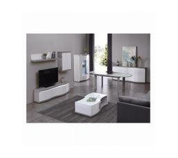 Table L. 180 Flex chêne gris/blanc - Tables BUT