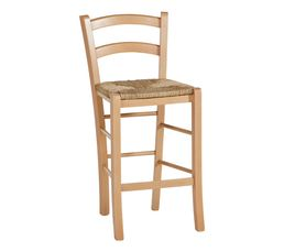 Tabouret de bar Paysan naturel