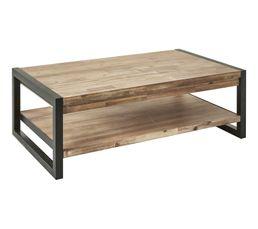 Table basse rectangulaire ZARA acacia massif