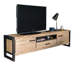Meuble tv L.190 ZARA acacia massif